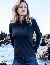 Women`s Heavy Polo Longsleeve